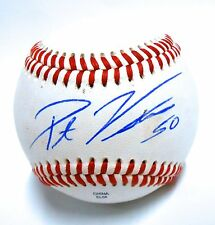 Pat Venditte Autograph Signed Baseball Switch Pitch Rookie Oakland A's Athletics