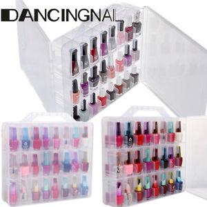bo te coffret tui pour 48 vernis ongle uv gel rangement organisateur nail art ebay. Black Bedroom Furniture Sets. Home Design Ideas