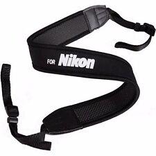 New Shoulder Neck Belt Wide Strap For Nikon Digital Camera DSLR