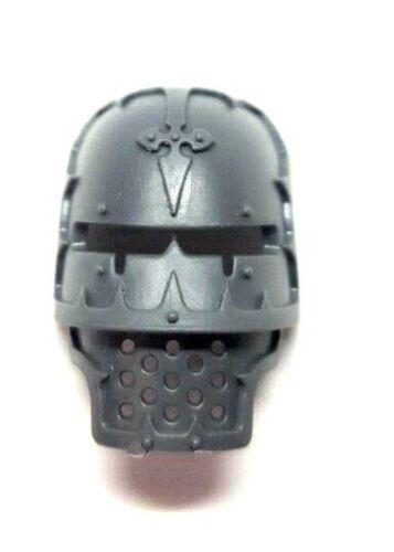 Imperial Caballero cabeza cara placa Casco Máscara Warhammer 40k Piezas Bits alcalde D