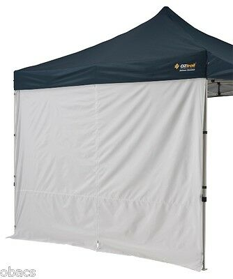 OZTRAIL DELUXE GAZEBO CENTRE ZIP SOLID WALL WALLS KIT FOR 3m x 3m AND 3m x 6m