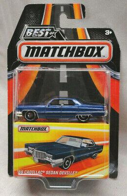 2016 BEST OF MATCHBOX DARK BLUE 1969 CADILLAC SEDAN ...