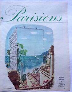 dessin-de-presse-Sempe-HOTEL-BELLEVUE-en-1962-ref-61691