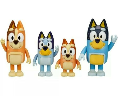 New unopened box toy Bluey and Family 4 OR Bluey /& friends 4 Figure Pack