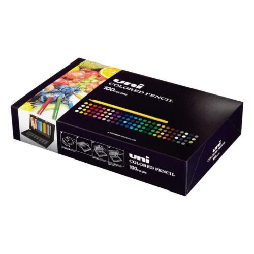 Mitsubishi Pencil Colored pencils Unicolor 100 colors From Japan BY EMS