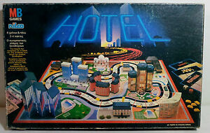 Mb Nilco 1990 Hotel Hotels Board Game Greek Version 4007 Made In