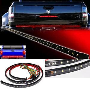 60 sealed led function rear tailgate brake tail light bar strip truck. Black Bedroom Furniture Sets. Home Design Ideas
