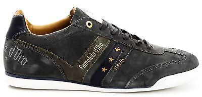 Scarpe Sneakers Pelle Uomo Pantofola d/'Oro Shoes Men Imola Leather Low 10183031