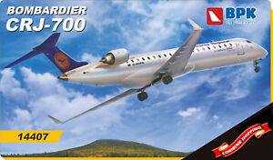 BPK (Big Planes Kits) 14407 Bombardier CRJ-700 Lufthansa Regional model kit1/144