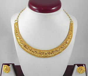 Indian fashion jewelry christmas gift gold plated for Is gold plated jewelry worth anything