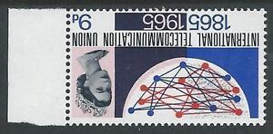 1965 ITU 9d (Ord) - Watermark Inverted - MNH