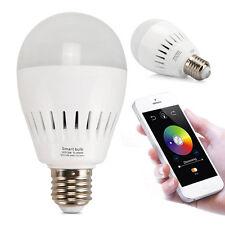 5W E27 BT4.0 Music Audio Speaker LED RGB Color Bulb Light Lamp APP Controled HOT
