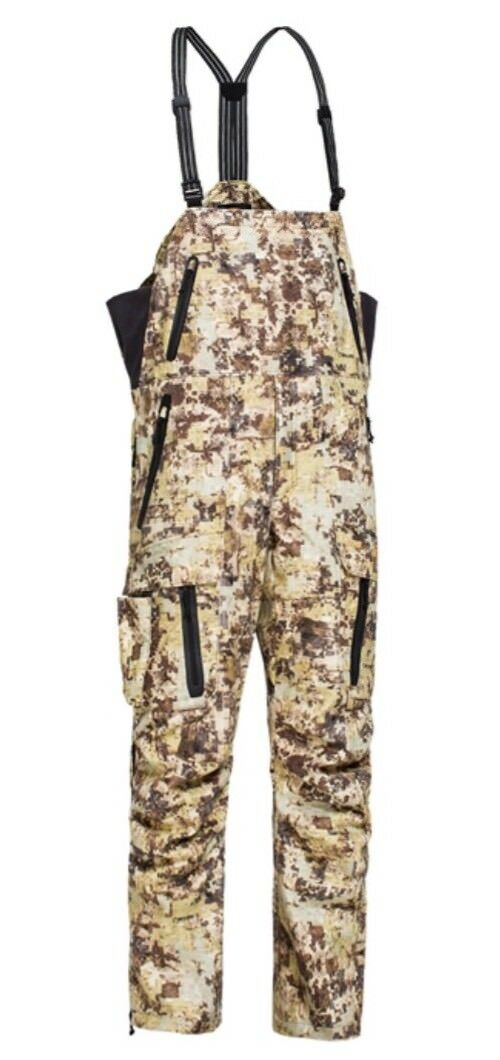 Plythal Men's Primaloft Insulated Bibs Polyester Digital Marsh Camo XL