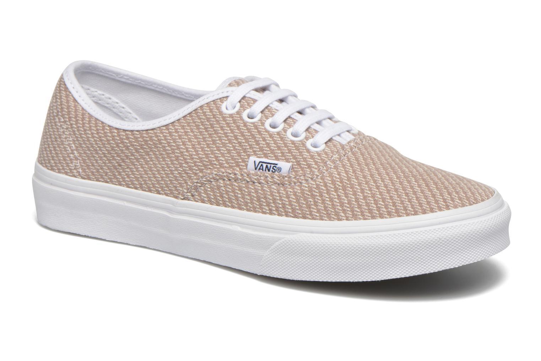 VANS Authentic Slim (Jersey) Smoke True White Casual shoes WOMEN'S 9