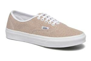 904b67a6cd VANS Authentic Slim (Jersey) Smoke True White Casual Shoes WOMEN S 9 ...