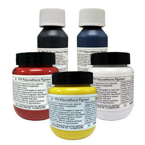 Plastics /& foams Super white Pigment 100g For Polyurethane Casting Resins