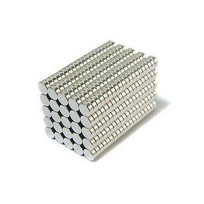 "Neodymium Magnets Rare Earth N35 Fridge Aimant Neodym 5x2mm Disc 3//16 x 5//64/"""
