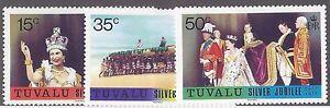 100% De Qualité Tuvalu Scott # 43-45 Jamais à Charnière Inutilisé-afficher Le Titre D'origine