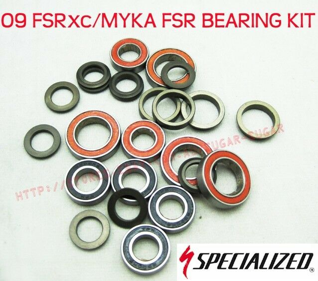 - New - Specialized 09 2009 FSRxc   Myka FSR Bearing Kit - 9899-5095