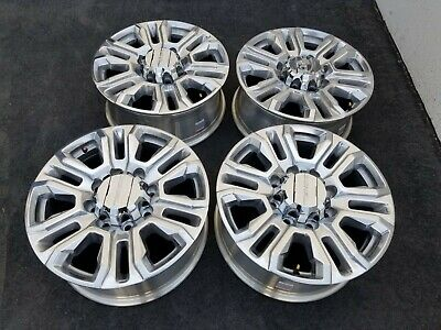 "20"" GMC DENALI CHEVY 2500 HD 3500 HD OEM FACTORY POLISHED ..."