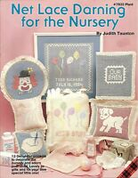 Net Lace Darning For The Nursery Embroidery Charts Patterns Judith Taunton