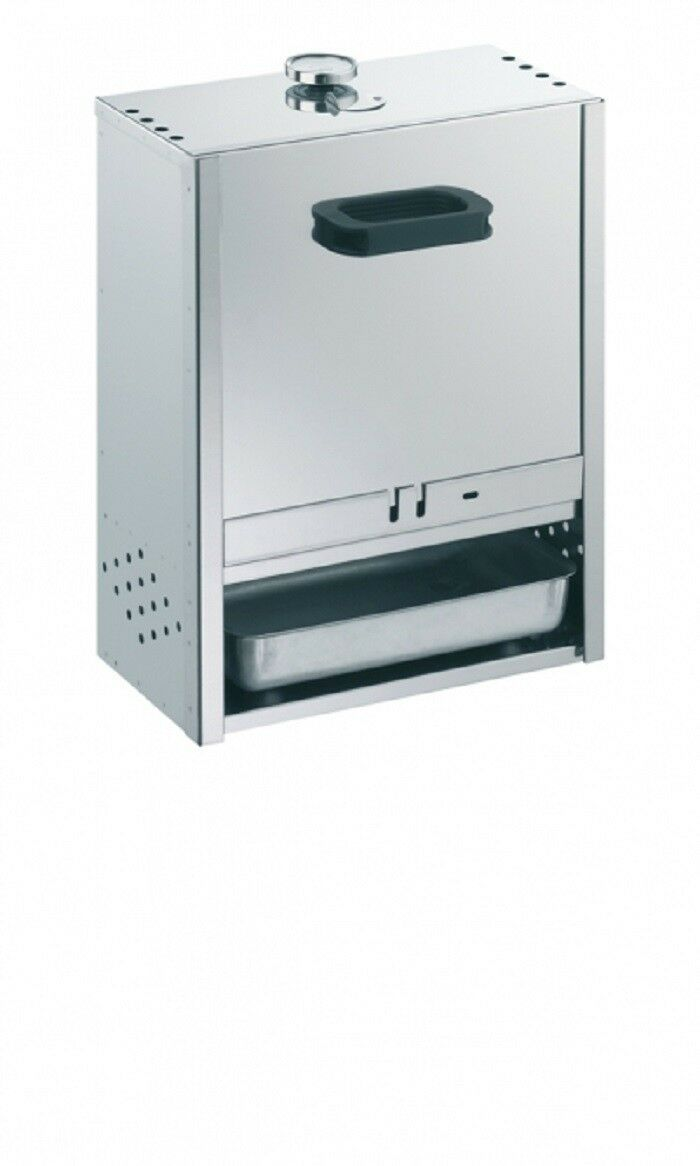 Stoves 15029 oven smoker smoking box 50x39x21cm-nirosta stainless steel.   factory direct and quick delivery