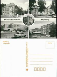 Ansichtskarte Magdeburg Medizinische Akademie 1985