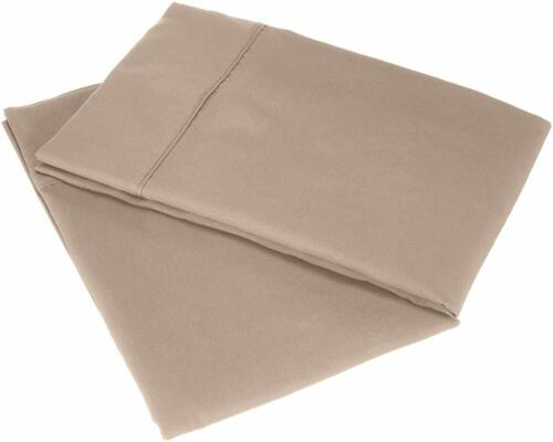 CCWB LUXURY 2PC PILLOWCASE OVERSIZE IN ALL SOLID COLORS 100/% EGYPTIAN COTTON