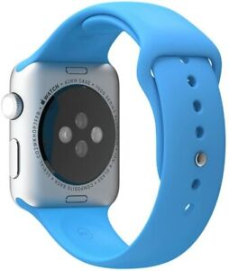Genuine-Apple-42mm-Watch-SPORT-BAND-ONLY-Blue