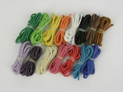 Angel Doll Hair Rope 2mm Twisted Cotton Cord Yarn Macrame 10m