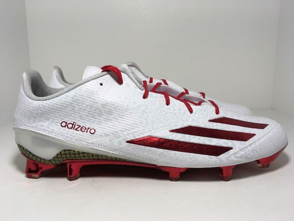 Adidas Adizero 5-Star 5.0 Low Football Cleats White AQ6954 Men's Size 13