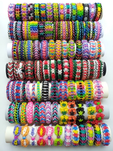 Pick 5 Rainbow Loom Bracelets out of 92 Different Bracelets for ...