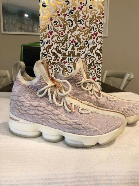 buy online 20fc5 8da3e LEBRON 15 KITH COLAB ROSE GOLD SZ 7.5 - EUC - Look Great!!!