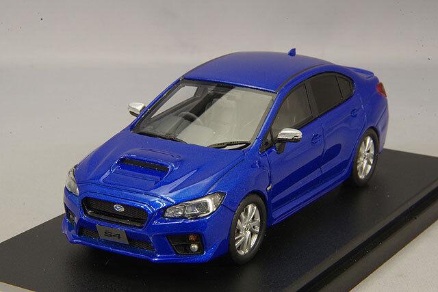 1 43 Hi-Story Subaru WRX S4 2.0 GT - S Eye Site 2014 WR Blau Pearl HS183BL
