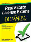 Real Estate License Exams For Dummies by John A. Yoegel (Paperback, 2013)