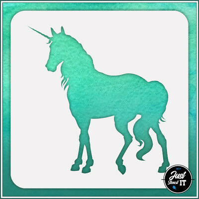 Unicorn #9 durable and reusable stencil for DIY painting /& crafts