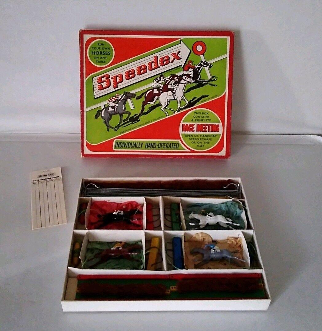 Rare Speedex Horse Racing Game     ( Excellent )