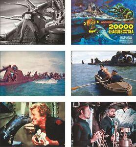 20-000-Leagues-Under-The-Sea-6-Card-POSTCARD-Set