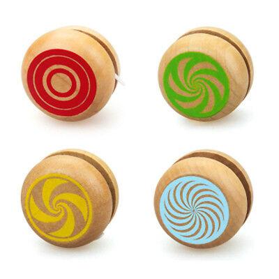 Wooden Classic Yoyo Toys Educational Toy Hand-Eye Coordination Development Toy