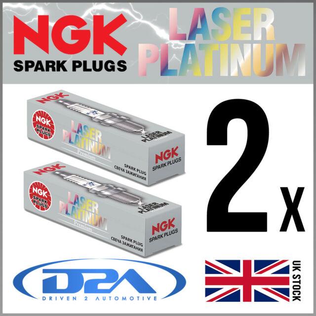 2x NGK PLKR7A (4288) Laser Platinum Spark Plug *Wholesale Price SALE*