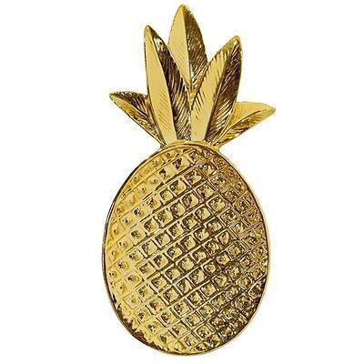 Bloomingville Ananas-Schale Gold