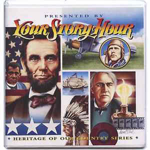 NEW-Your-Story-Hour-Heritage-of-Our-Country-Volume-6-Lincoln-Columbus-Audio-CD
