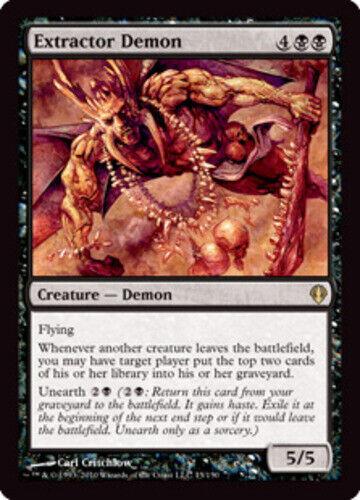 *CCGHouse* Magic Extractor Demon X4 Archenemy MTG NM