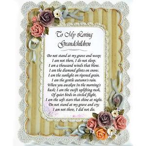 image is loading grandad grandma memorial personalised frame missing you in