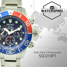 Seiko Men Chronograph Diver Solar Watch SSC019P1