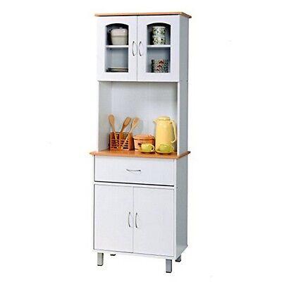 HODEDAH IMPORT HIK94WHITE Hodedah Kitchen Cabinet - White Hik94 White NEW