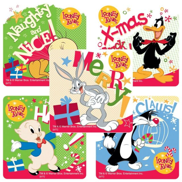 25 Looney Tunes Sylvester and Tweety stickers teacher supply party favors