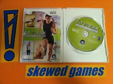 Fit in Six - Wii Nintendo COMPLETE