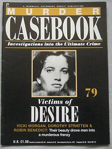 Murder-Casebook-Issue-79-Dorothy-Stratten-Vicki-Morgan-amp-Robin-Benedict