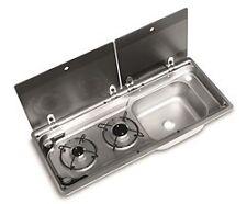 SMEV Dometic 9722 R/H Compact Campervan Sink/Hob Sink Inc Tap 9222 WV T5 T4